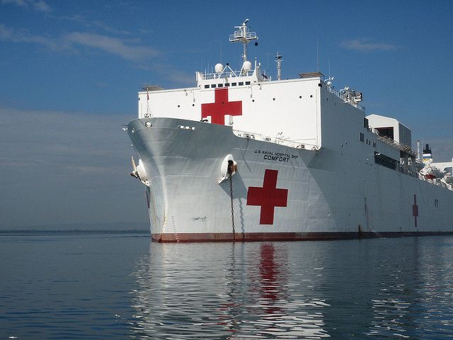 Cold Comfort Trump S Refusal To Send Hospital Ship Tips His Plan To Abandon Puerto Rico Puerto Rico Cold Abandoned