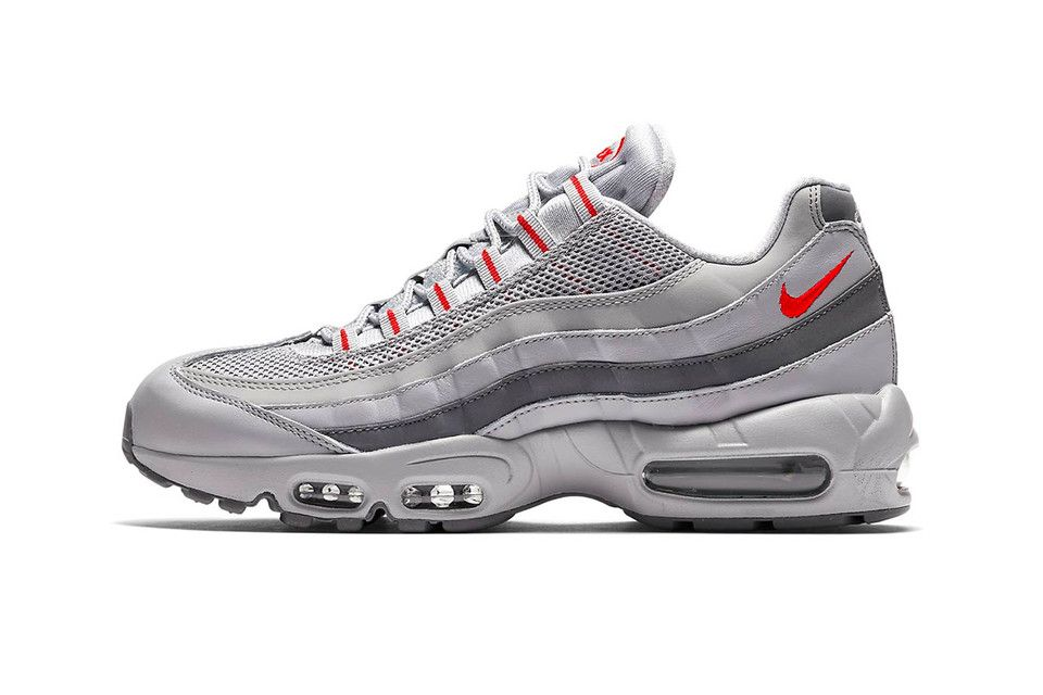 low priced 3eab2 a2d14 Nike Air Max 95 Steps Out in Gradient Matte Grey and Red