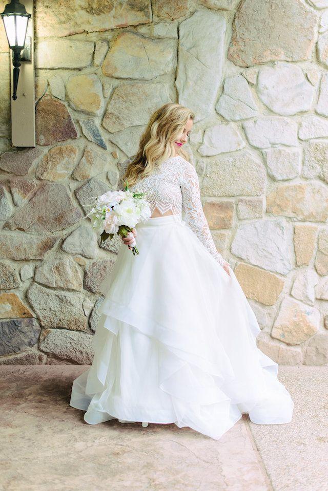 Taylor Swift Inspired Wedding Dress Modern