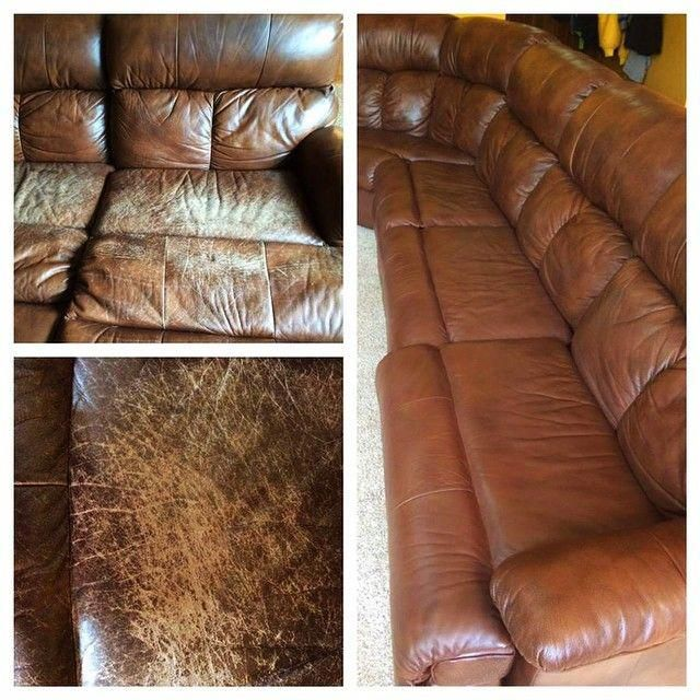 Leather Sofa Repair Is A Real Thing. Looks Brand New