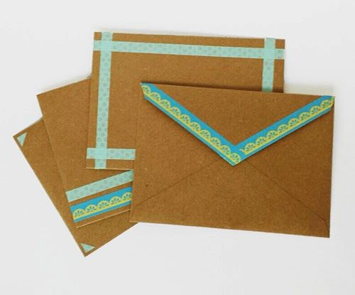 washitape enveloppes