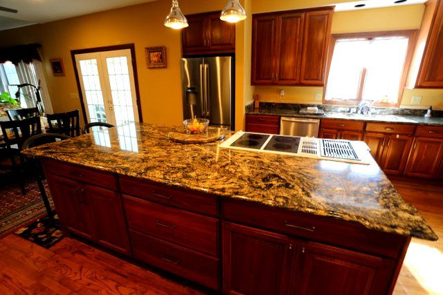 Golden Thunder Granite Kitchens | Granite Countertops St. Louis Gallery Of  Arch City Granite U0026