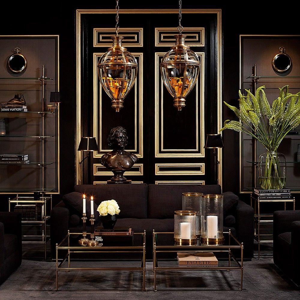 Dark blue 1 2 bathroom decor ideas eichholtz aubrey coffee table aged brass houseology