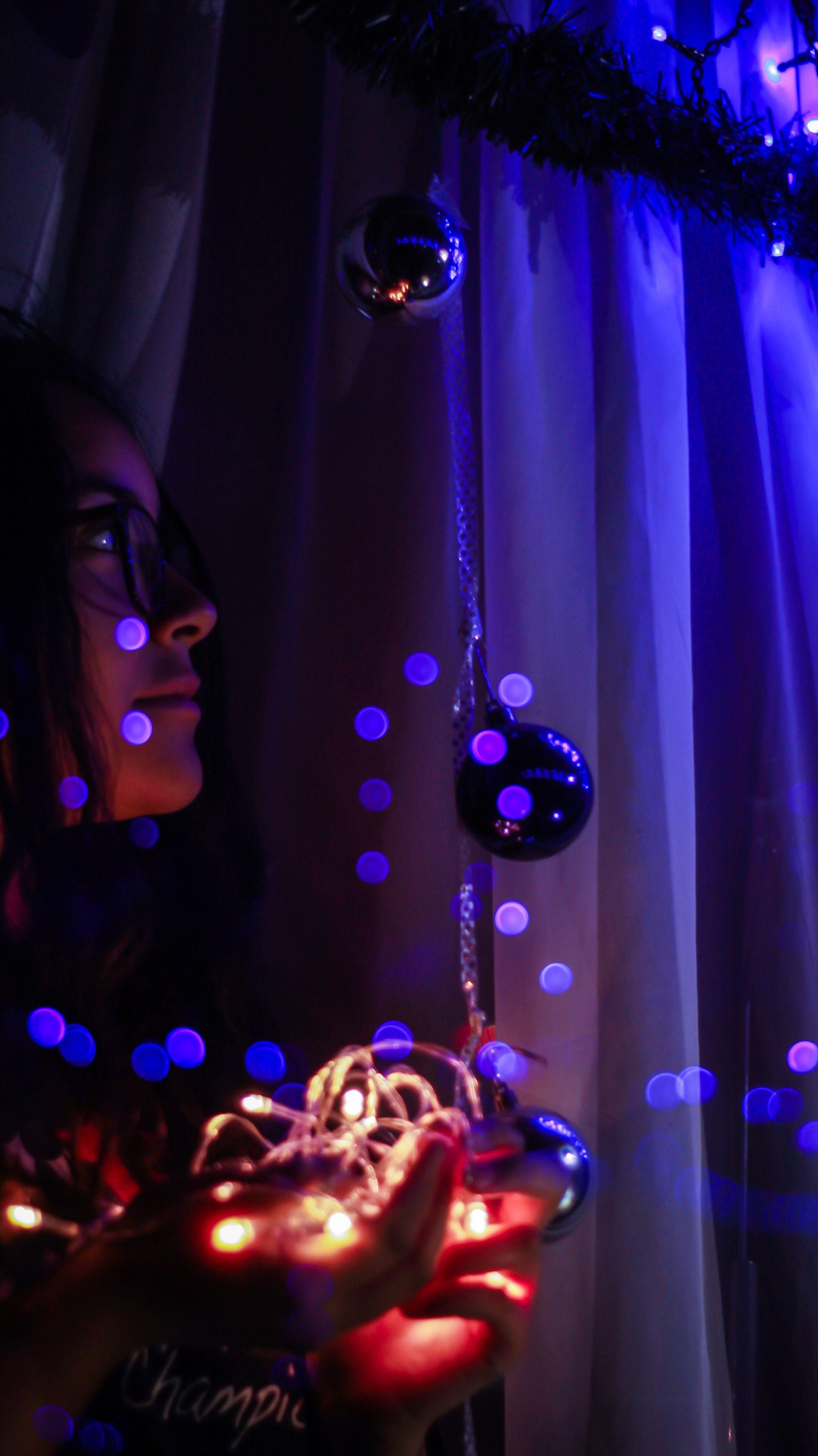 Christmas Photoshoot Lights Love Photography
