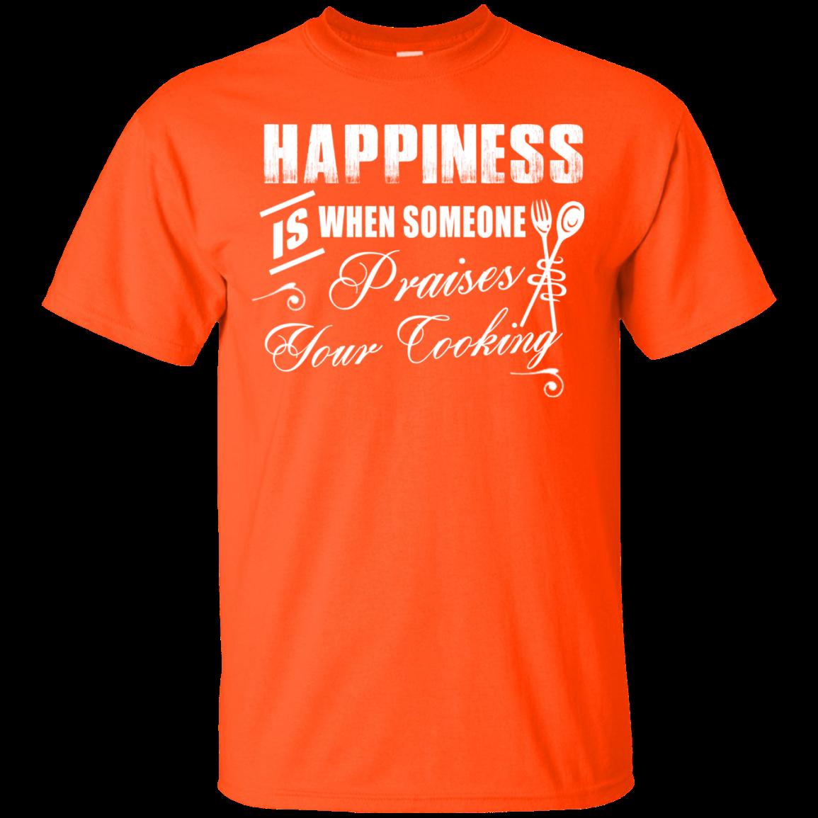 """Cooking Happiness"" Ultra Cotton TShirt T shirt, Shirts"