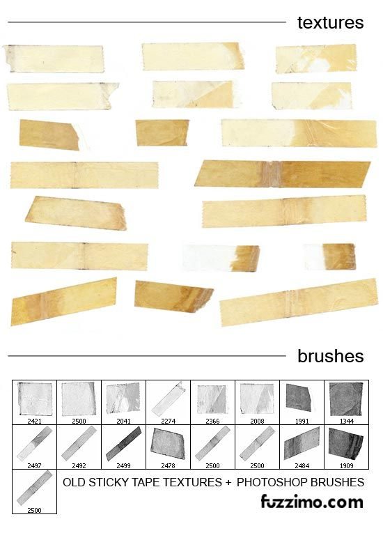 9 Sets Of Free Digital Tape Strips Fab N Free Photoshop Textures Ps Brushes Photoshop