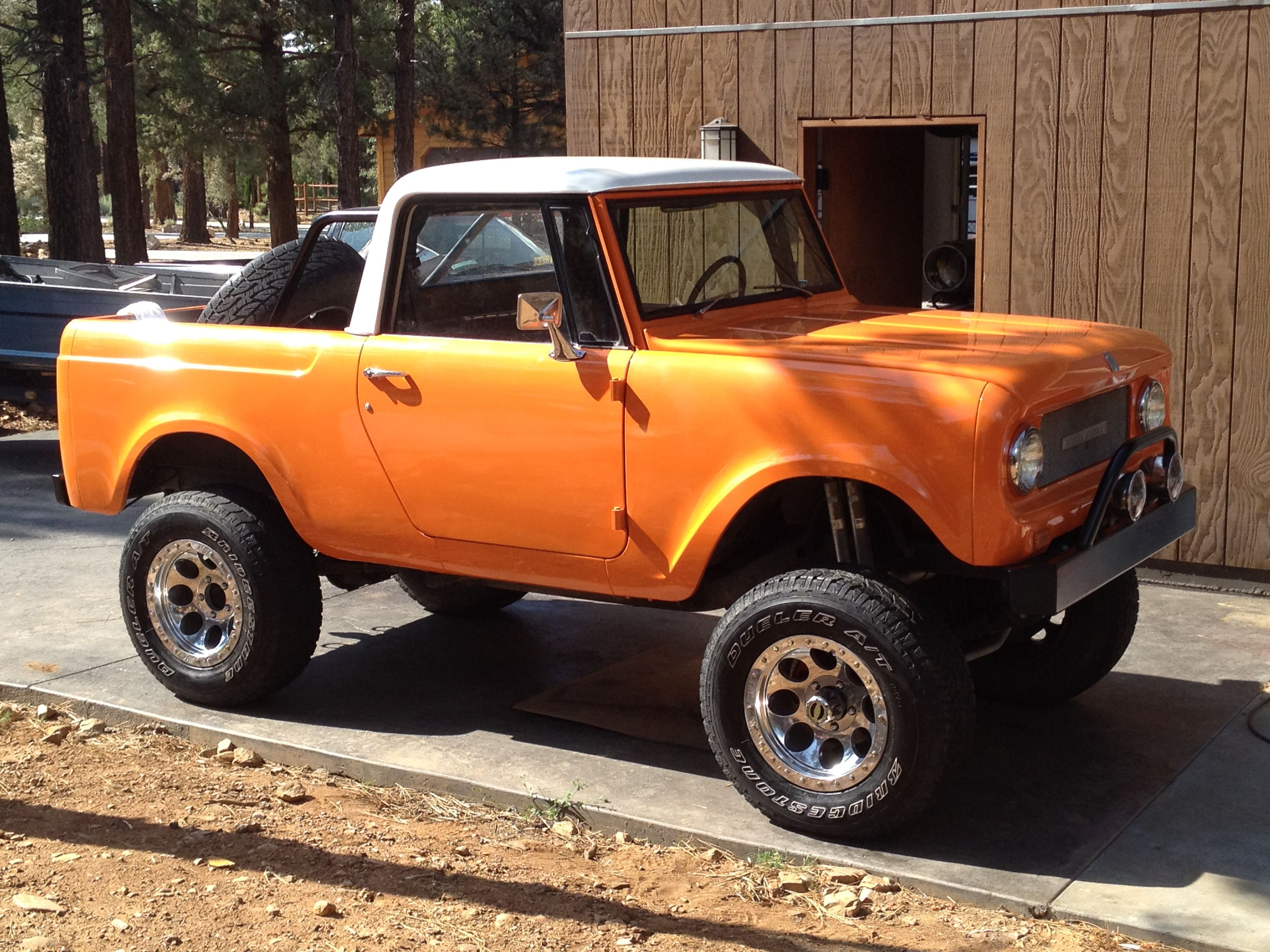 My 1969 international scout i ll never sell this car