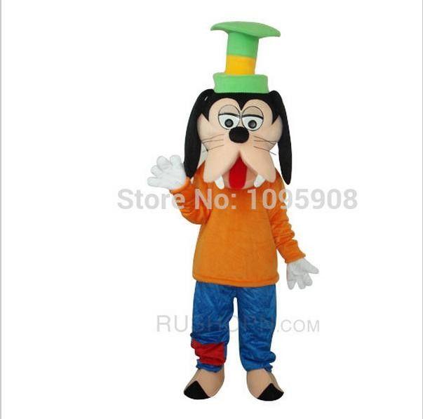 High Quality Goofy Dog Mascot Costume Cute Goofy Mascot Costume