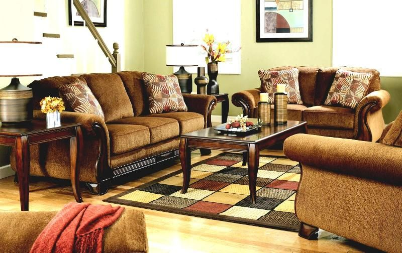Living Room Ashley Living Room Sets At A Position Near The Stairs Great Home Decoration with Ashley Living Room Sets