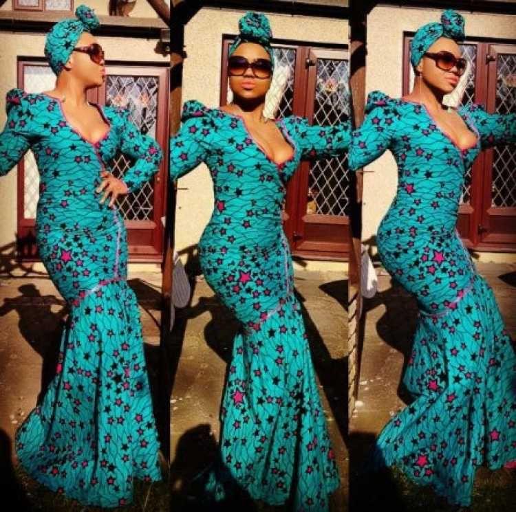 Modele robe soiree pagne