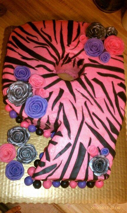 Girls 9th birthday cake Let them eat cake Pinterest Birthday