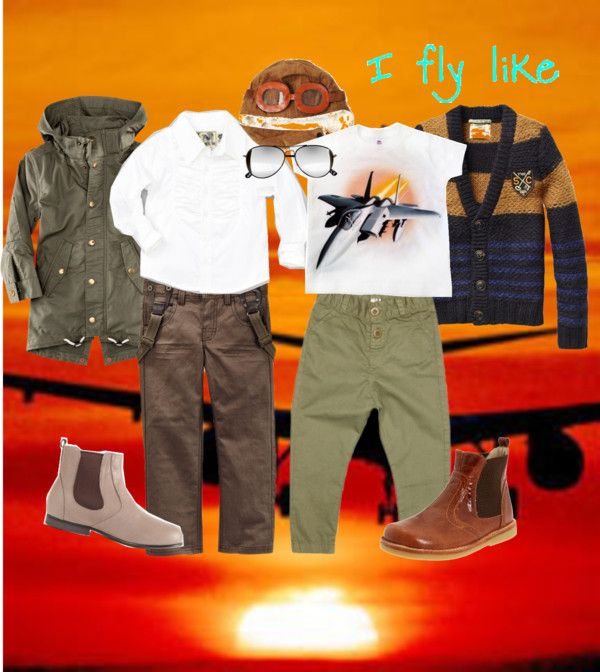 """""""Little Pilot: Gravity Ain't Got Nothing on My Style"""" by boysbecool on Polyvore"""