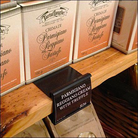 wood shelf label holder in black color black fixtures in retail rh pinterest com Clip On Label Holder brass label holders for wood shelves
