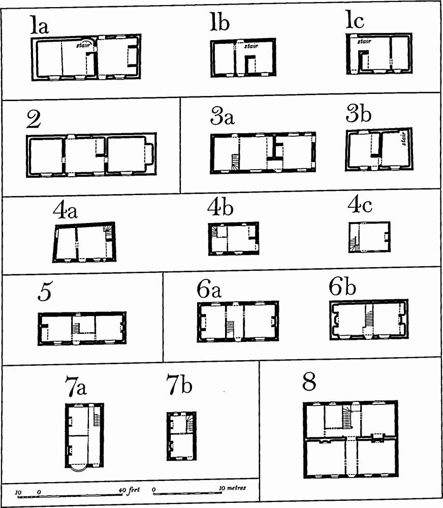 Classification of post medieval house plans british for Medieval home plans