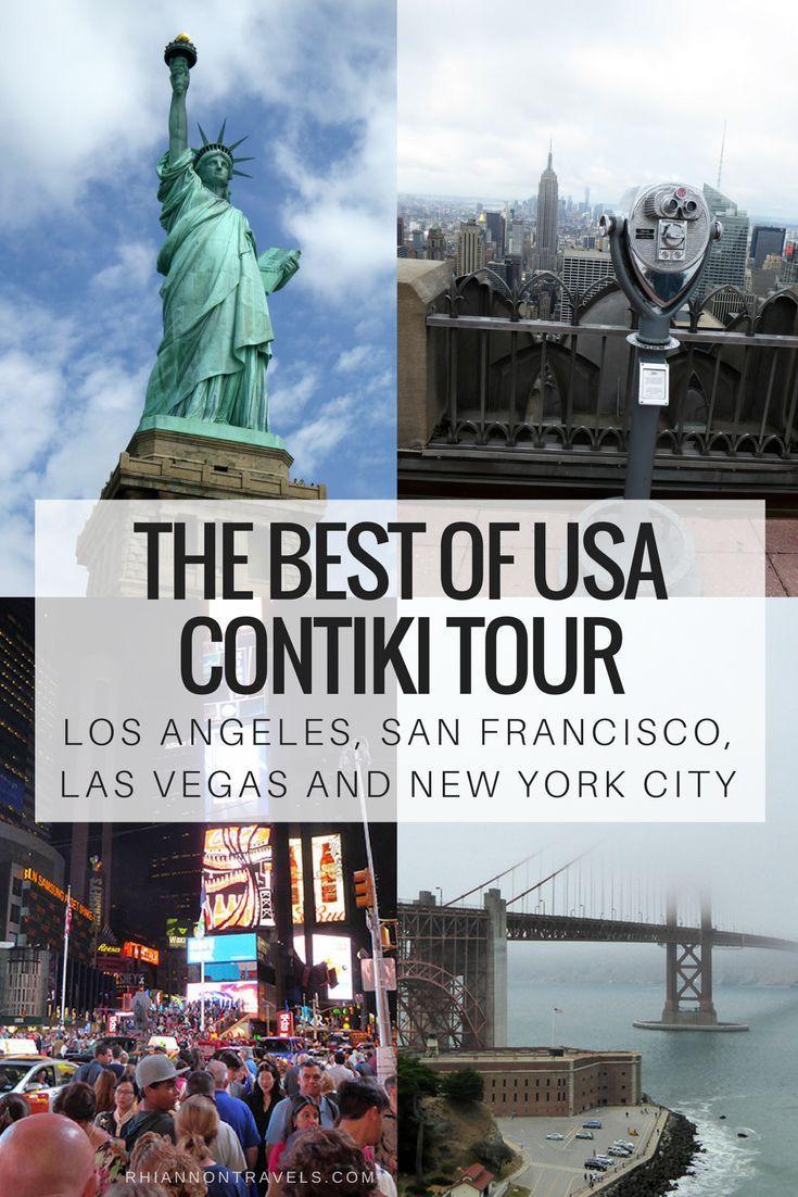 Best Of Usa Contiki Tour Los Angeles San Fransisco Las Vegas New York Travel Destinations Inspiration Travel Blog