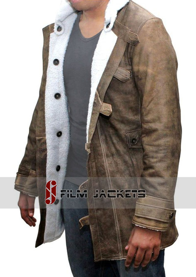 Distressed Shearling Tom Hardy Coat | Coats, Black friday and Black