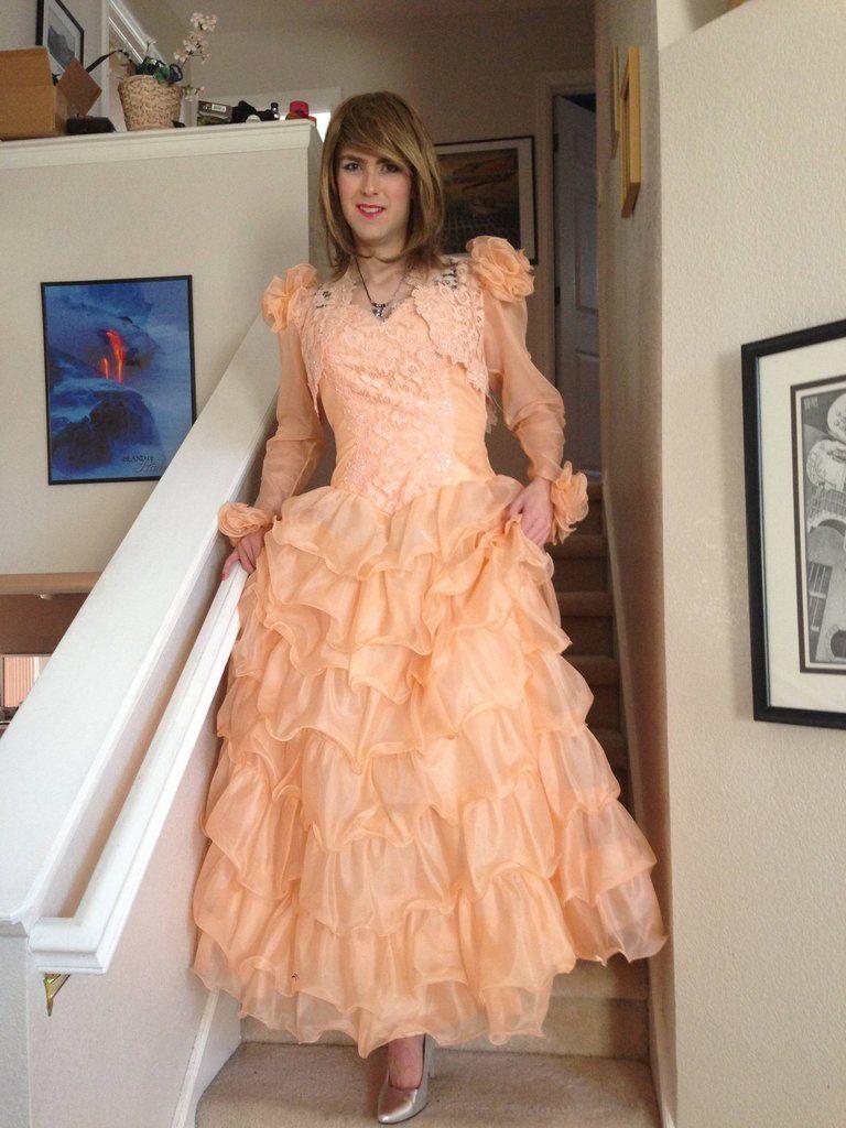 transvestite evening dress
