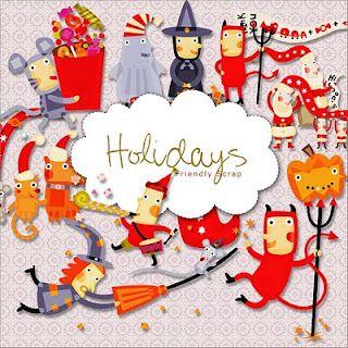 free holidays kit