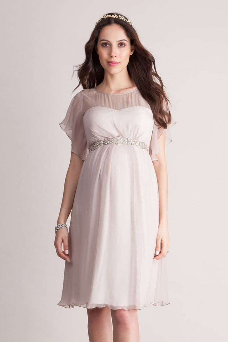 Umstandskleid aus Seiden-Chiffon | Maternity occasion wear and ...