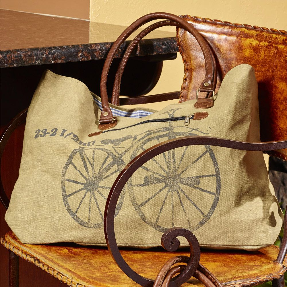 Vintage Bicycle  Shoulder  Bag - Shop at Viva Home Decor  a1073621b92ff