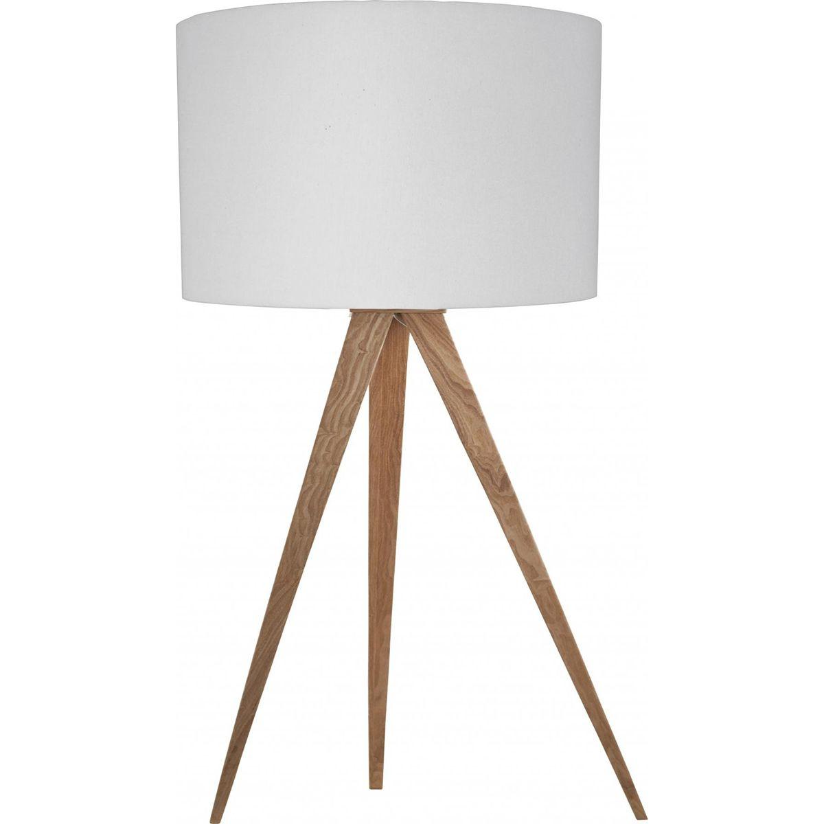 Tripod Wood Table Lamp Table Lamp Wood Lamp White Table Lamp