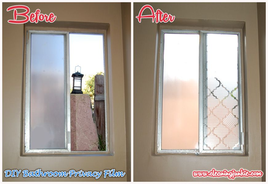 Window Films Diy Bathroom Window Privacy Film Week 5 Diy Home