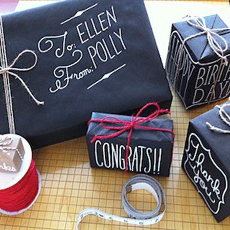 Envolturas para regalos baratas y originales DESIGN Pinterest - envoltura de regalos originales