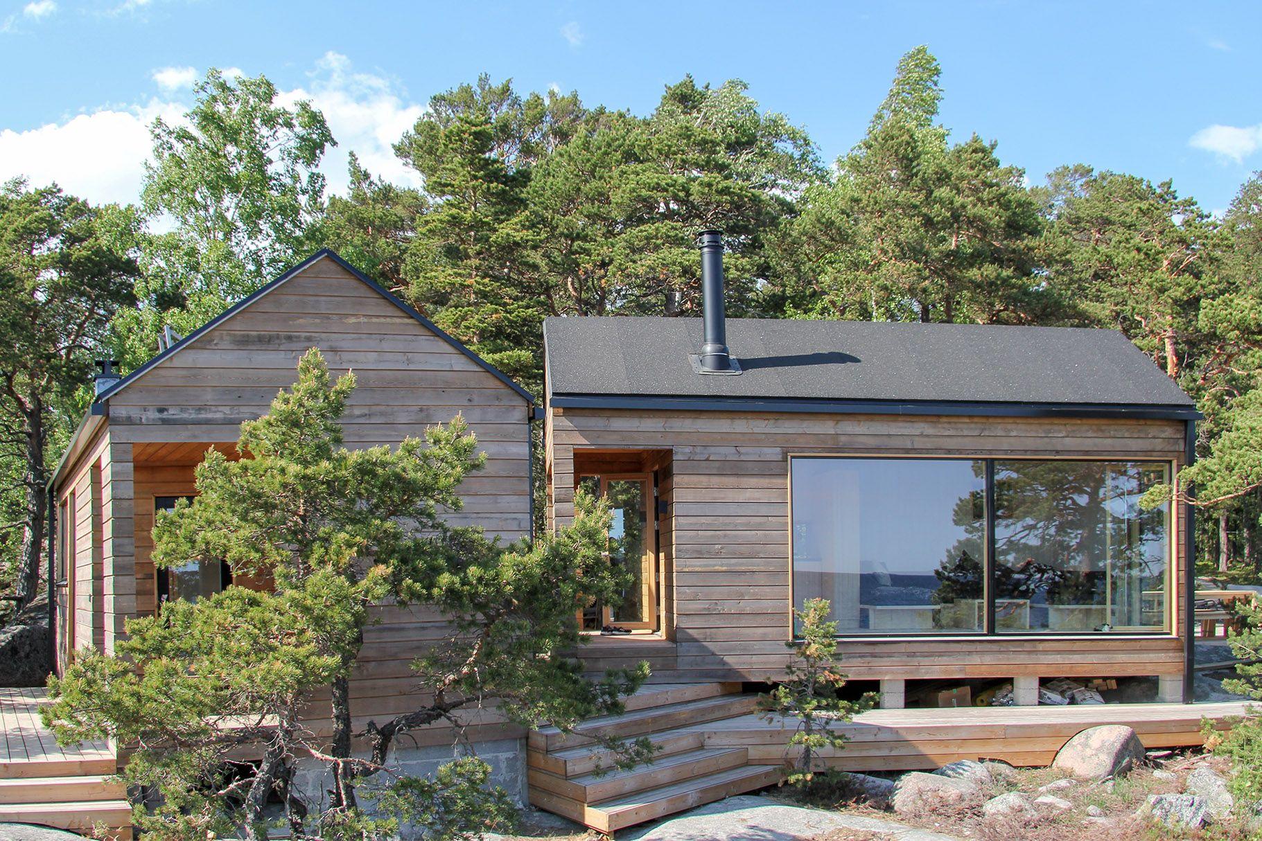 Sauna Ja Saunatupa Helsingin Saaristossa 20 Summer House