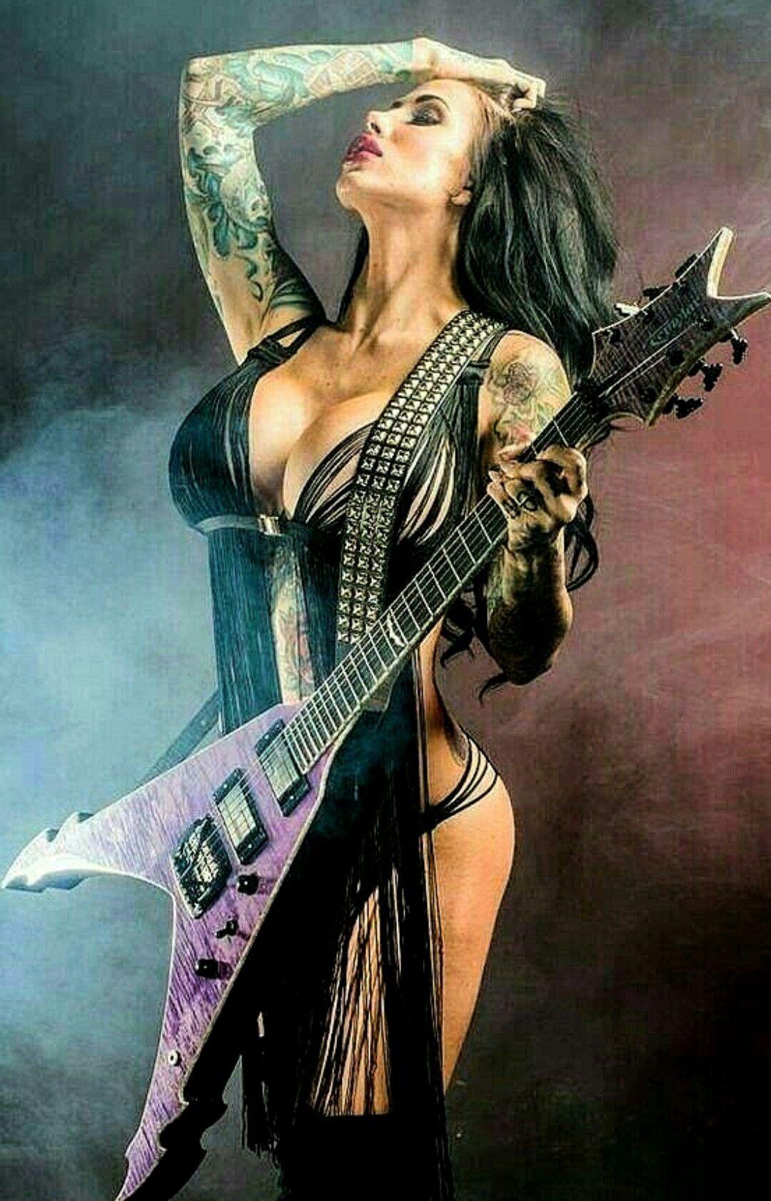 Картинки хеви метал девушки, для поздравления днем