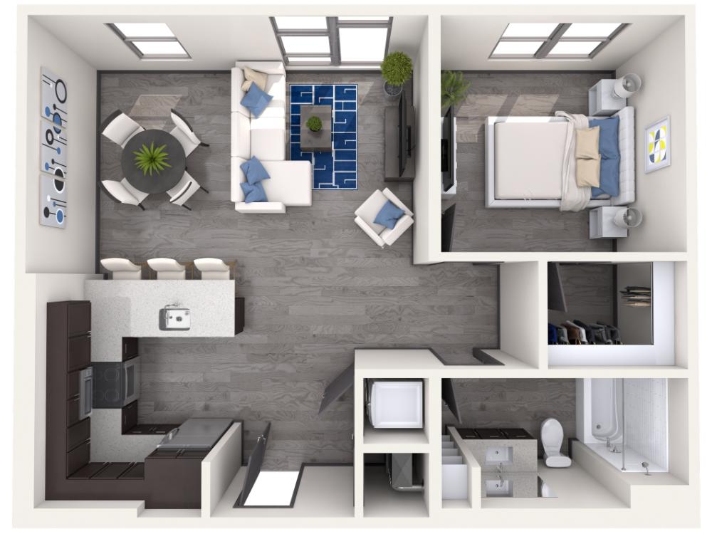 Floor Plans Eastside Heights apartment steadfast