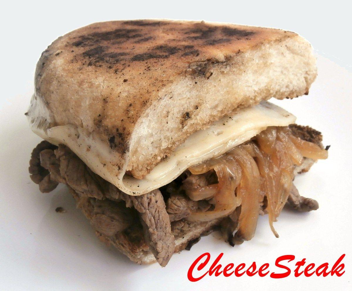 CheeseSteak Sandwich - Bocadillo de Carne