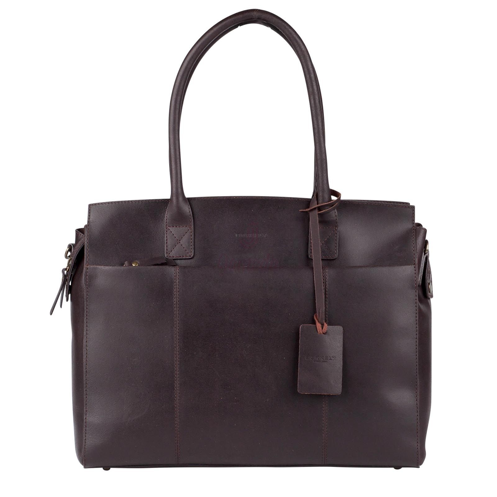Burkely Vintage Doris Laptopbag is de ideale tas voor school of een stijlvolle…