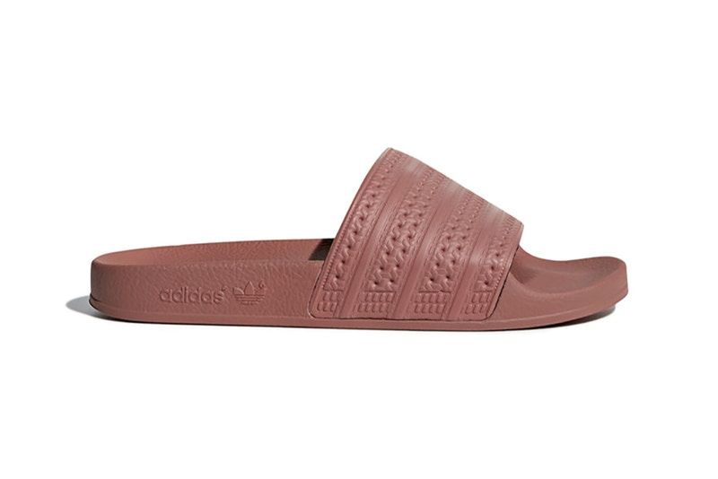 b983f1d41977 adidas Just Dropped Its Adilette Slides in Two New Dusky Pink Colorways
