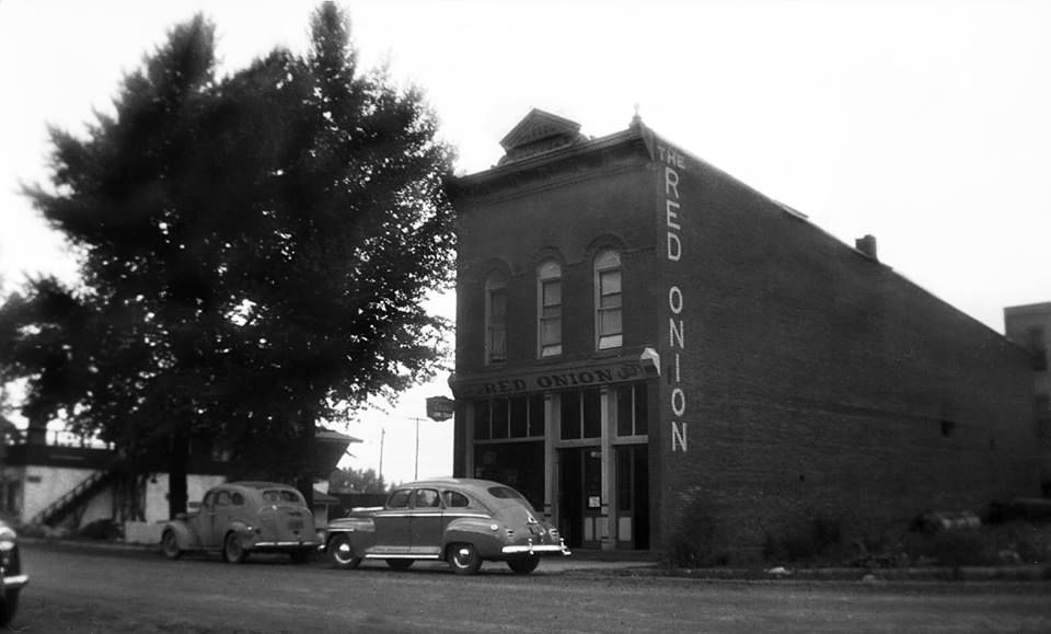#tbt of our #landmark Red Onion Building....1953 The Red Onion #Aspen, CO