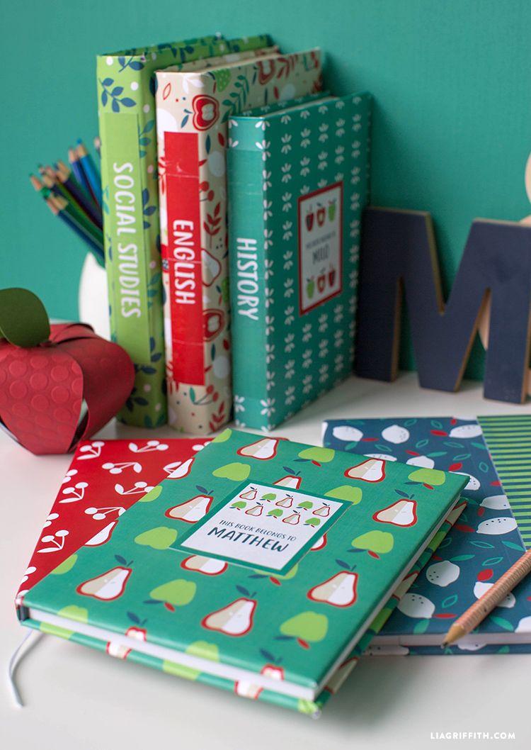Gestalten sie ihr eigenes küchenlayout back to school book covers and labels  lia griffith  pinterest