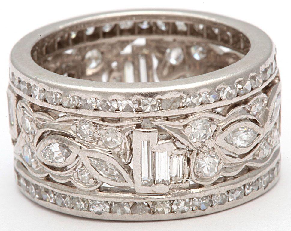 32+ Wide diamond wedding bands information