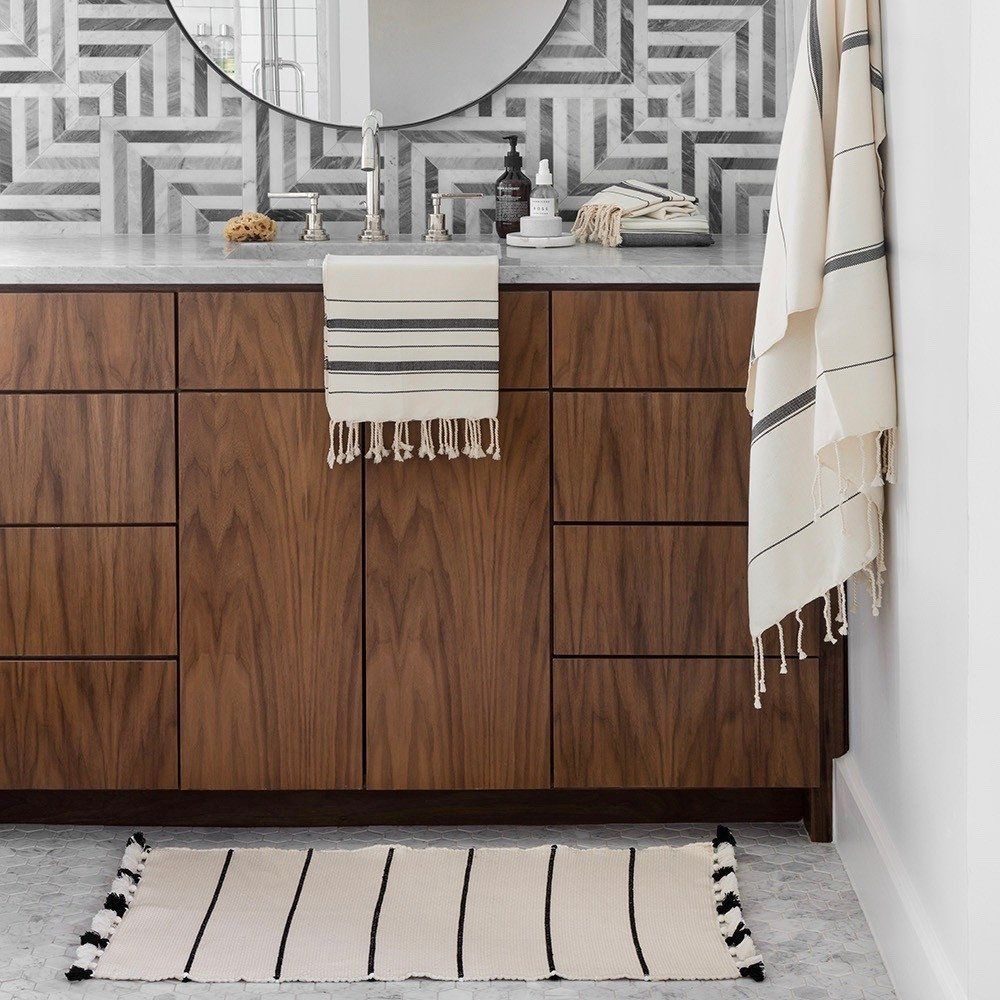 The Citizenry Moroccan Bath Rug Ivory And Black Bathroom Rugs The Citizenry Bathroomrugs Black Bathroom Rug Bathroom Rugs Black Bathroom [ 1000 x 1000 Pixel ]