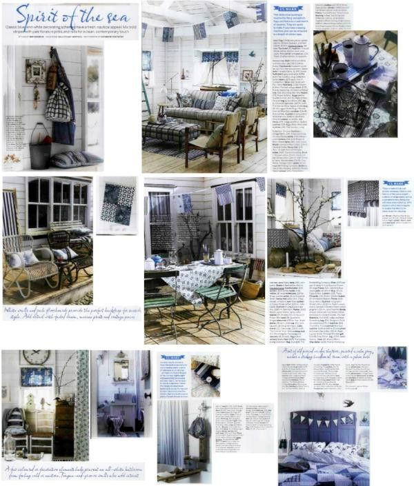 Love everything on this page from county living, the colours and the cosiness