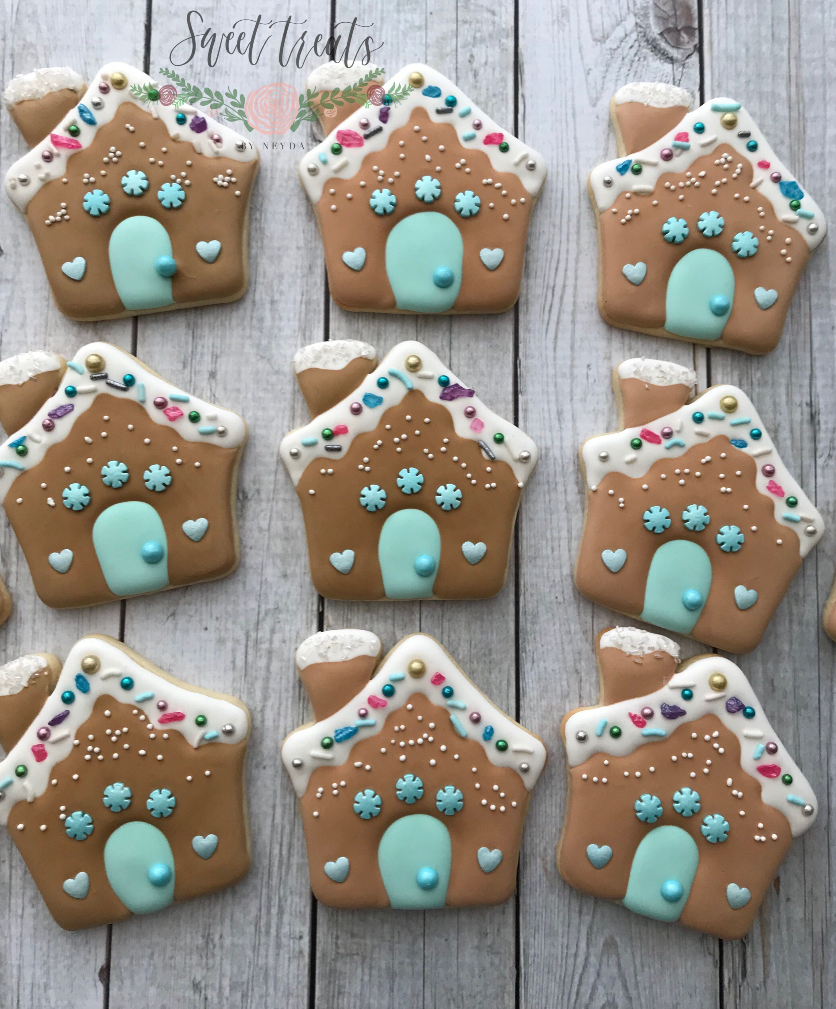 Gingerbread House Sugar Cookies Loving These Cutters By Sweet