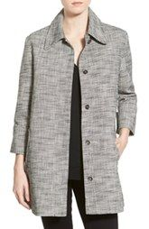 cupcakes and cashmere 'Gwen' Woven Swing Coat