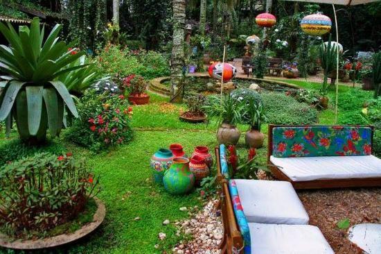 cantinhos charmosos no jardim - Pesquisa Google