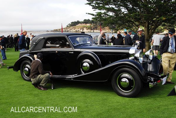Hispano Swiza J12 Van Vooren Faux 11,3 litros V12 Cabriolet 1933