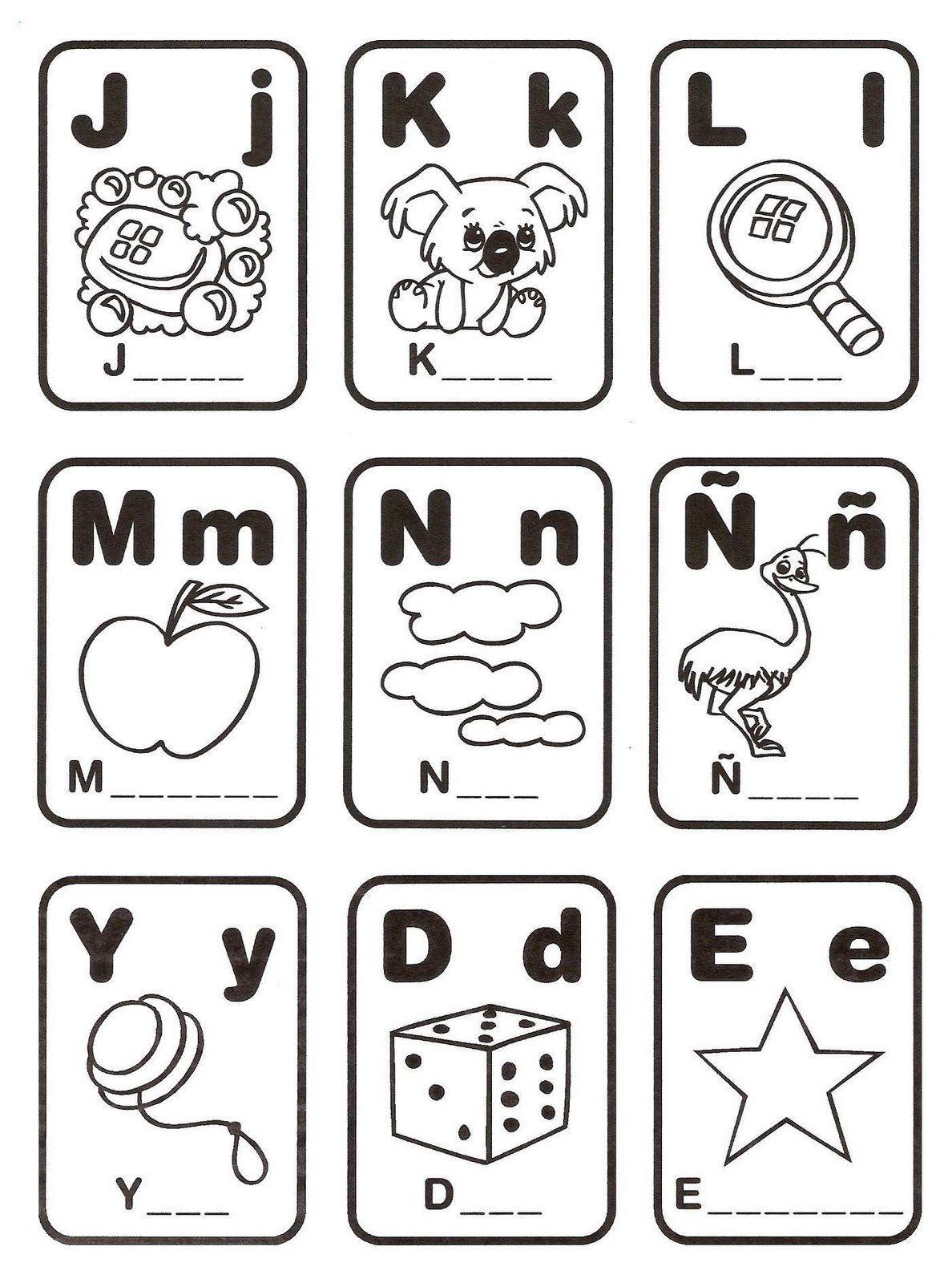 Loteria De Alfabeto Para Imprimir Imagui Loterias Para Ninos