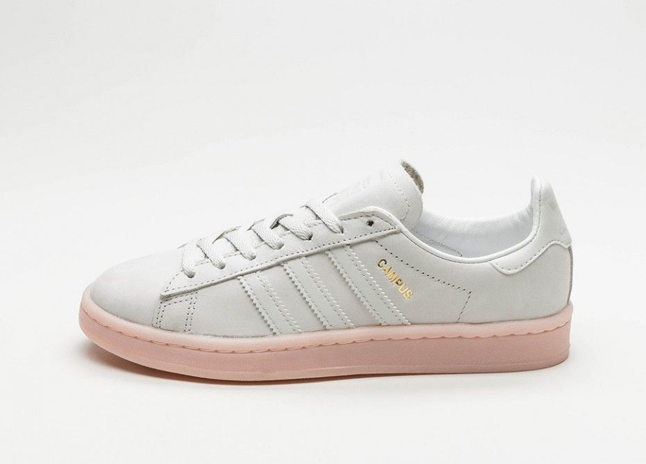 732a52c57d5 adidas Campus W (Crystal White   Crystal White   Ice Pink)