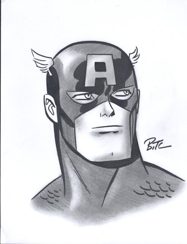 Pin by wvii on /.гиковое   Pinterest   Bruce timm, Captain America ...