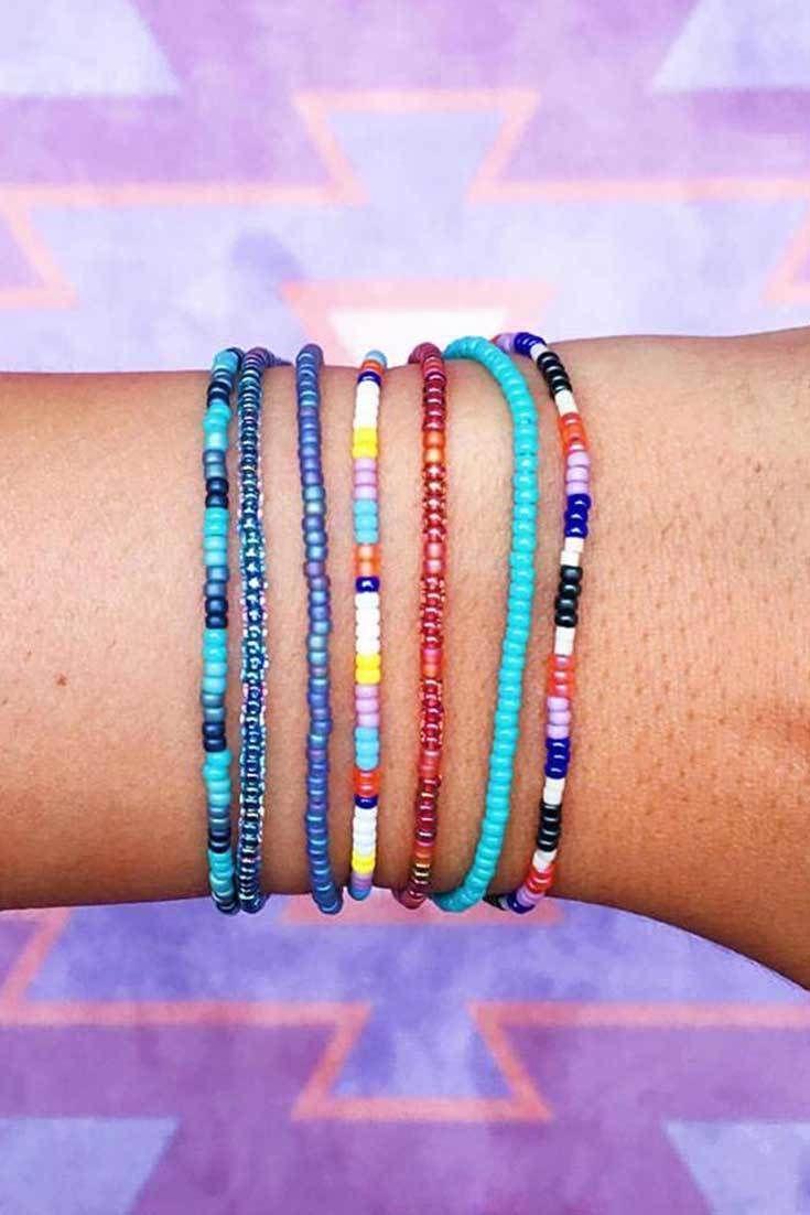 922313c092fe2 Summer Seed Beads | Pura Vida Bracelets | Wrist Pics | Bracelets ...