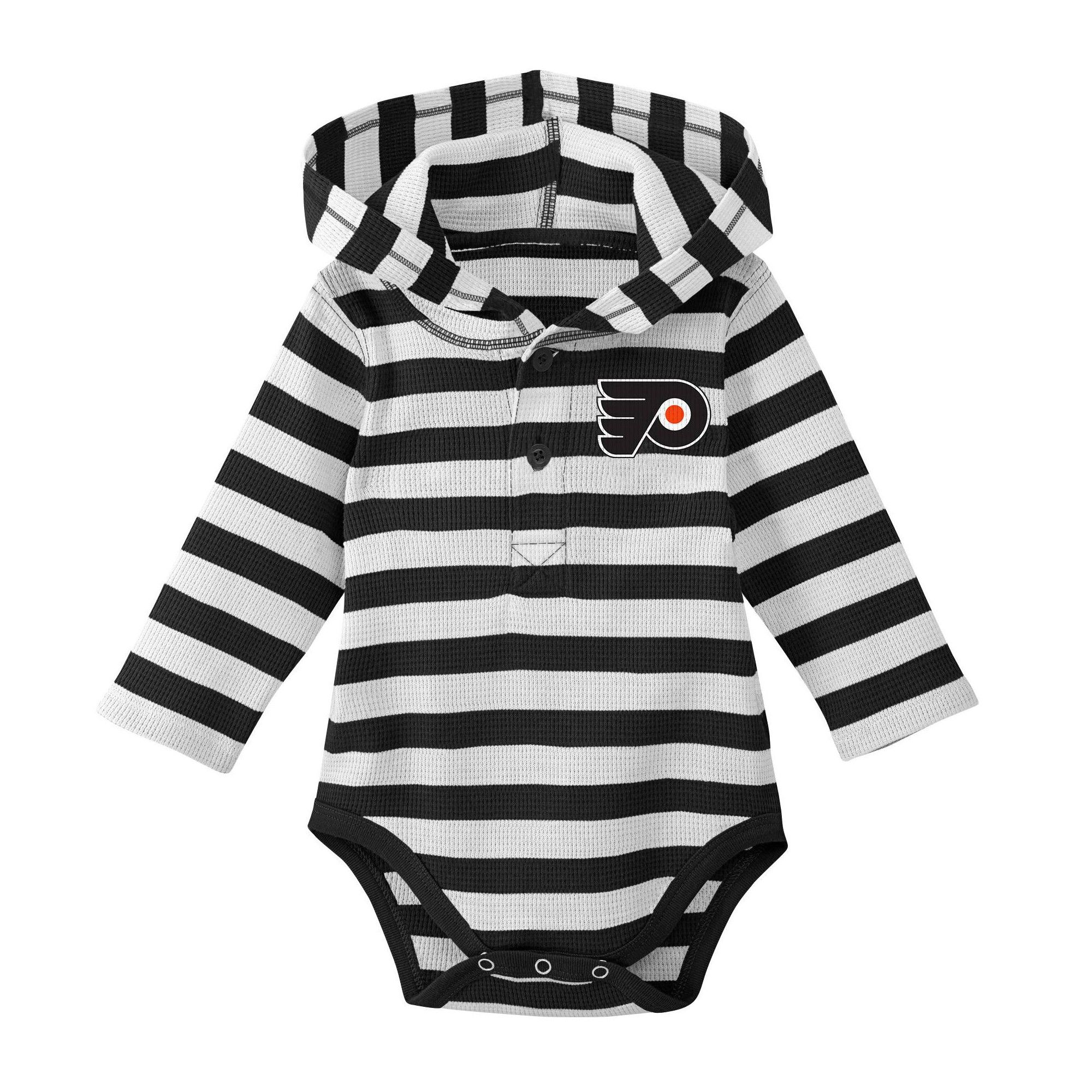 6fa5b222ad22 Philadelphia Flyers Boys' Newborn/Infant Sleeper Bodysuit - 0-3M,  Multicolored
