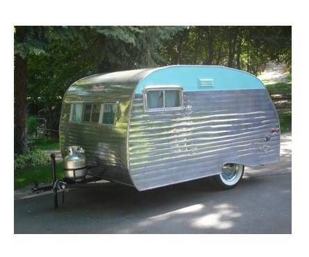 What a cute trailer! 1962 Serro Scotty Vintage travel