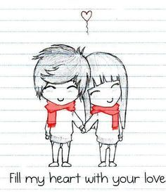 8fdb99b8ab892fcec8c70d77d9881a37 Jpg 236 273 Cute Drawings Of Love Love Drawings Tumblr Cute Sketches