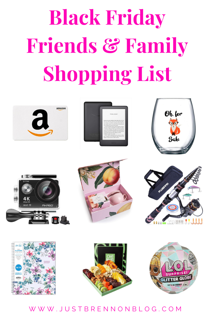 Black Friday Friends Family Shopping List In 2020 Black Friday Friends Black Friday Shopping List Black Friday Shopping